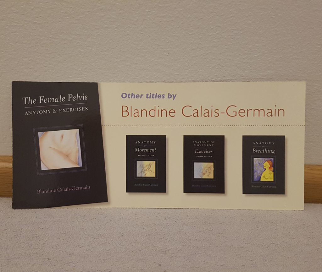 Blandine Calais-Germainin kirjoissa on upea kuvitus ja syvälliset harjoitteet.