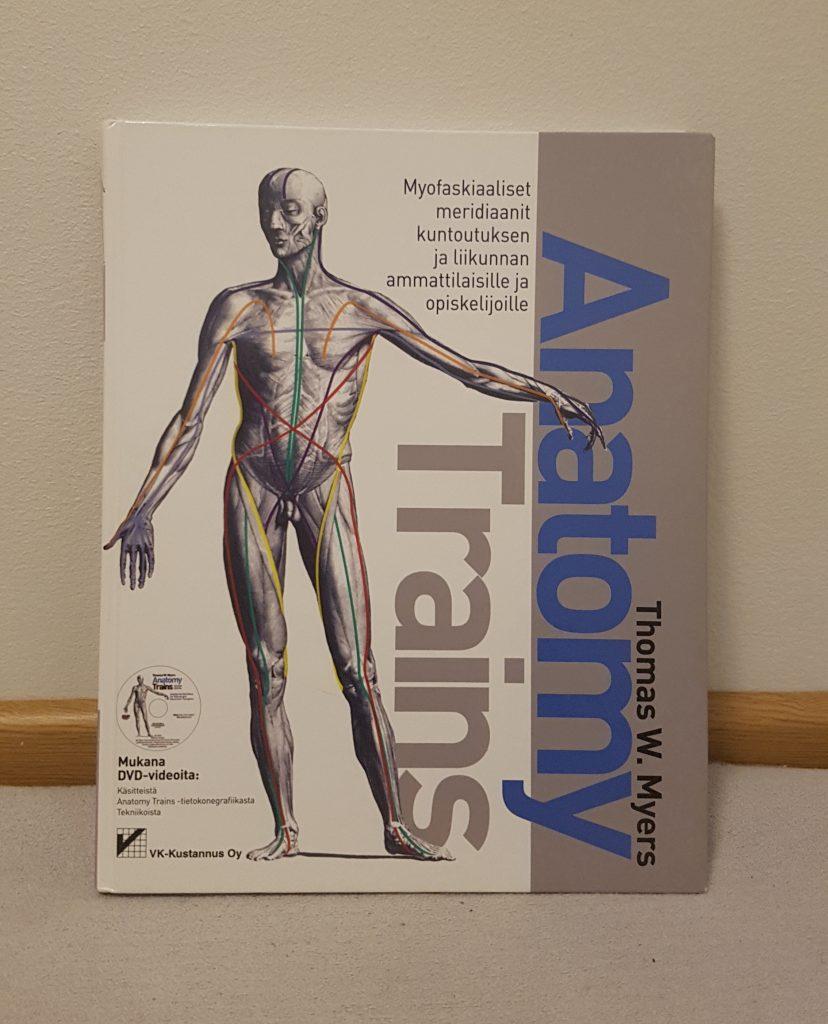Anatomy trains kuvaa lihas-sidekudosketjuja oivaltavalla tavalla.